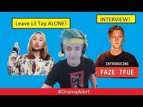 Leave Lil Tay ALONE! #DramaAlert Ninja GOD! FaZe Tfue INTERVIEW!