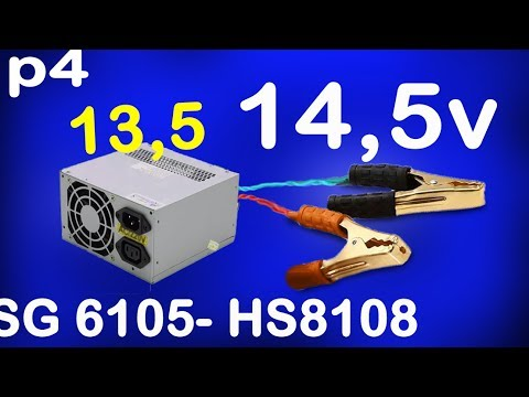convert atx power supply to bench power supply, ATX PSU hack 13,8v, 14,5v  Alf