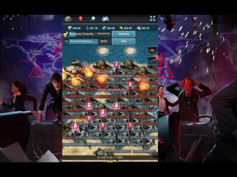 Mobile Strike ZEROING 50 BILLION POWER PLAYER PART 2 - SvS 12/4/16