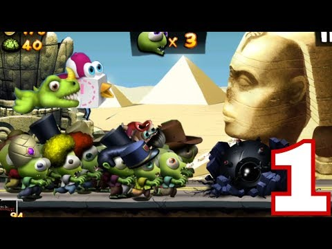 NEW. Zombie Tsunami Gameplay walkthough Part 1 | unlock All Objects & Upgrades (iOS & Android)