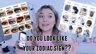DO YOU LOOK LIKE YOUR ZODIAC SIGN?? | erosemakeupx