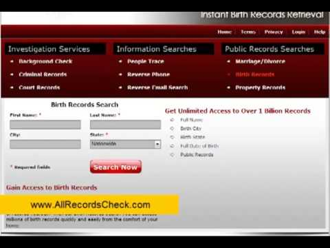 How to Do FREE Birth & Death Records Search Online
