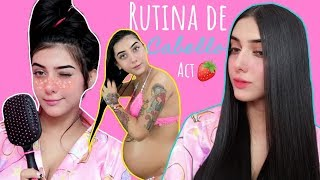 MI RUTINA DE CABELLO ACTUALIZADA   Sofi Muñoz