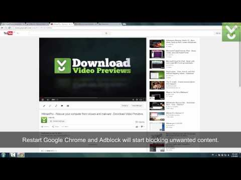 AdBlock for Chrome - Block unwanted ads in Google Chrome - Download Video Previews