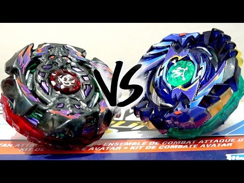 BATTLE: Arc Bahamut .2B.At VS Shelter Regulus .5S.Tw - Beyblade Burst God/Evolution!