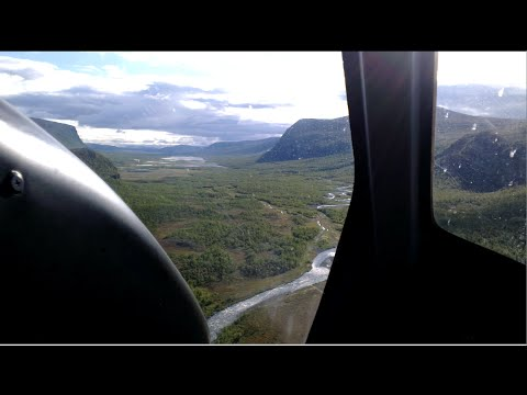 Swedens highest mountain basecampb helicopterride
