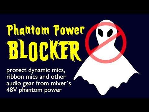 Phantom Power Blocker