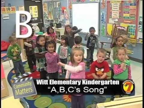 Community Matters - Witt Kindergarten sings ABC's