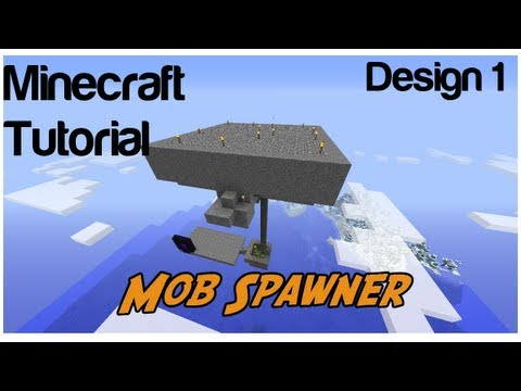 How to make a Mob Spawner/XP Farm in Minecraft 1.7.2