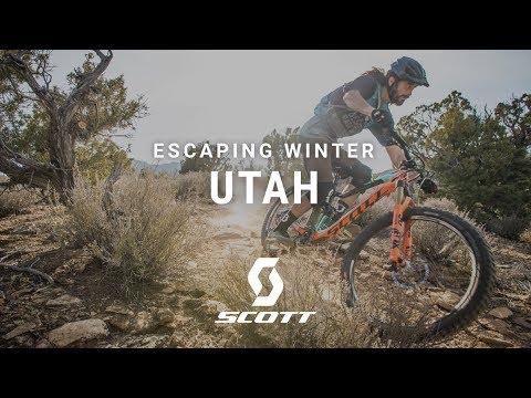 The BEST Winter MTB Destination? - Utah - Chasing Trail Ep. 18