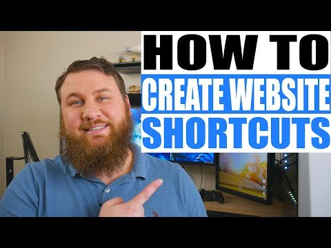 How to Create Shortcuts to Websites on your Desktop