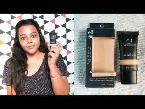 Elf Tinted Moisturizer Review & Demo for all skin types