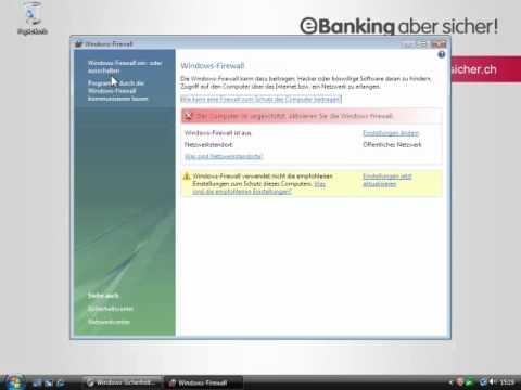 Firewall Aktivieren Windows Vista (DE)