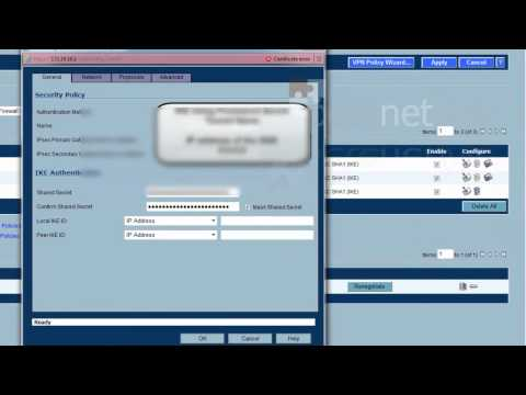 SonicWALL to Cisco ASA Site to Site IPSEC VPN
