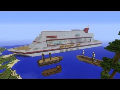 Minecraft Xbox One Cruise Ship (Part 1)