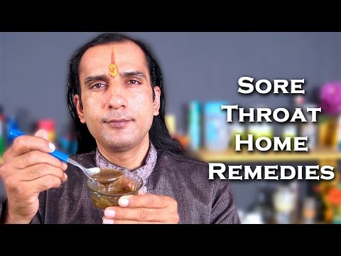 How To Get Rid Of A Sore Throat Problem - Remedies for Sore Throat By Sachin @ ekunji.com