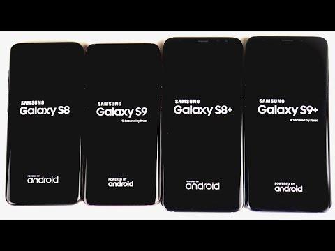 samsung galaxy s9 vs galaxy s8 comparing the screen to body ratio
