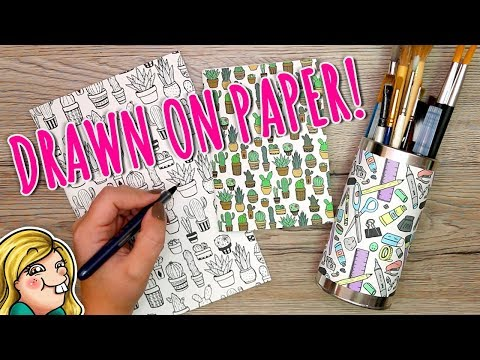 How to Create HAND-DRAWN Repeating PATTERNS
