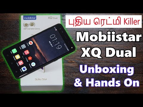 Mobiistar XQ Dual - Unboxing and Hands On Overview   New Redmi Killer!   Tamil   Tech Satire
