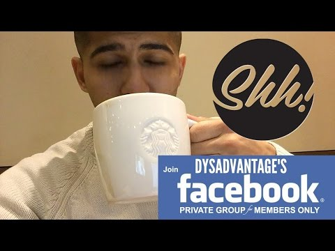 Private Facebook Group | Starbucks | Dyslexia in school (Mini Vlog)
