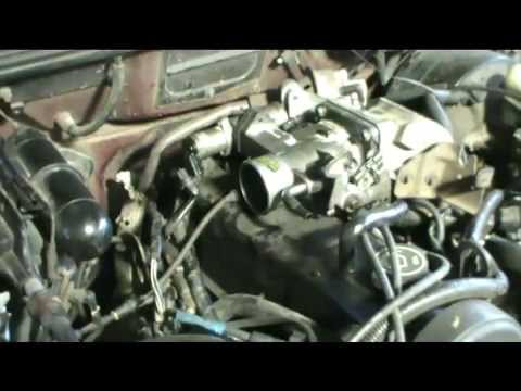 Cleaning Ford Ranger 2.3l Throttle Body