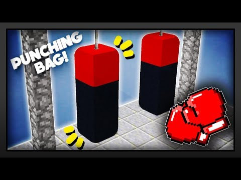 Minecraft -  How To Make A Punching Bag