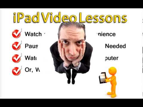How To Use the iPad - Video Tutorials
