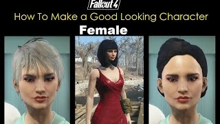 Fallout 4 character creation female | GulluTube