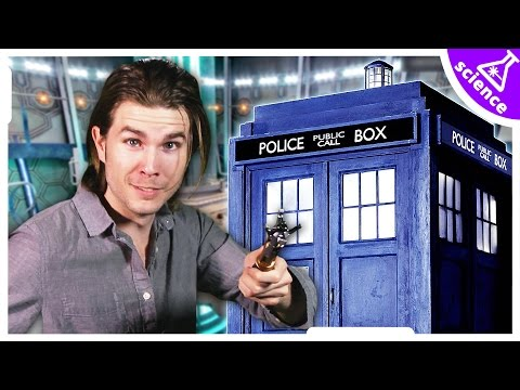 How Doctor Who's TARDIS is Bigger on the Inside - Ask Kyle (Because Science w/ Kyle Hill)