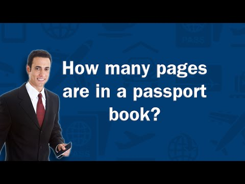 How many pages are in a passport book? - Q&A