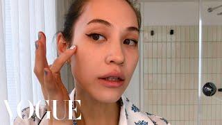 Kiko Mizuhara's Guide to Flawless Skin, and the Perfect Cat Eye | Beauty Secrets | Vogue
