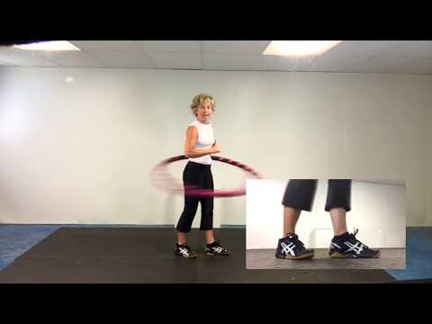 weighted hula hoop beginner techniques
