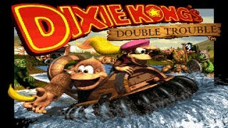Donkey Kong Country 3: Dixie Kong's Double Trouble! - Full Game 103% Walkthrough