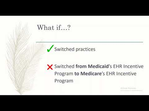 Part 1 - Determining Eligibility for the NC Medicaid EHR Incentive Program