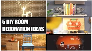 5 DIY Room Decorating Ideas