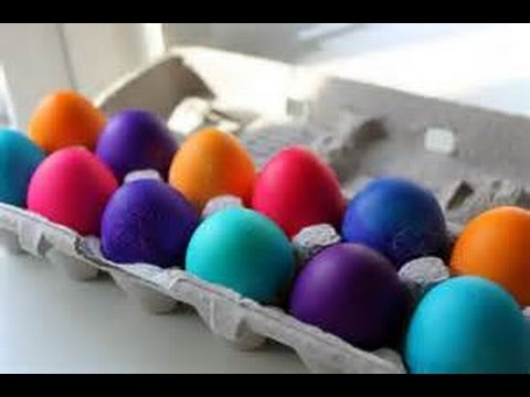 How to Dye Color or Decorate Easter Eggs with Kool Aid