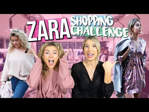 ZARA Shopping Challenge 2017 | Bestfriends Buy Outfits for Each Other!