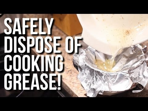 Safely Dispose of Cooking Grease! | Day 3 of The 12 Days Of Clean! (Clean My Space)