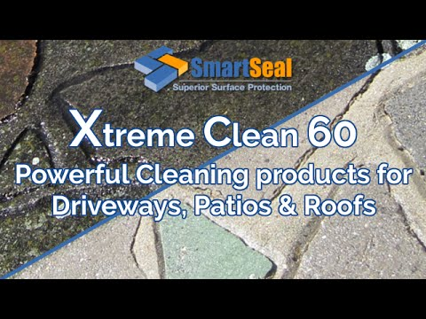 'How To' EASY Cleaning of Block Paving, Roofs, Patio Slabs & Driveway
