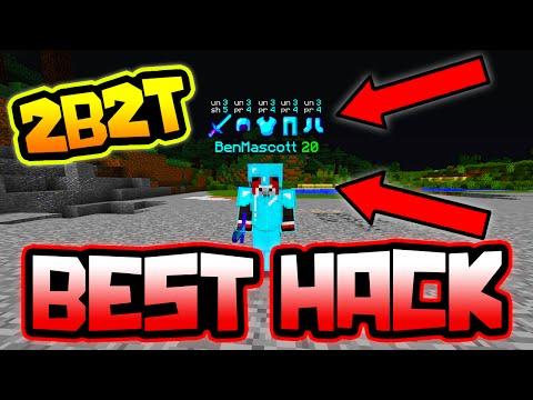 BEST HACK IN MINECRAFT 2B2T!!