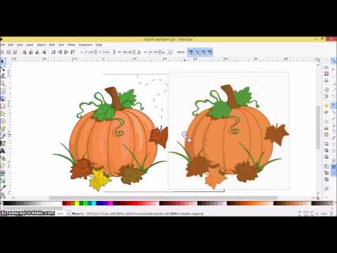 Cricut Explore Step-by-Step STEP 7: Creating a Layered SVG in Inkscape using a Color Image