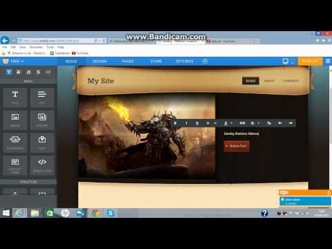 How to make a website using Weebly