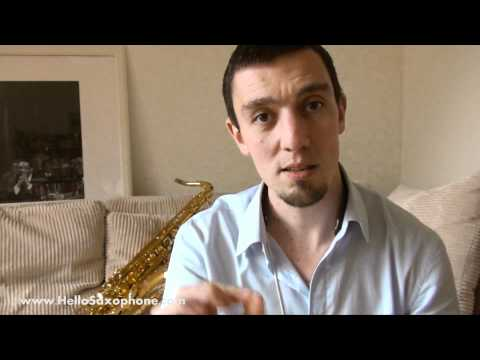 Saxophone workshop: How to cultivate a great/beatiful sound or tone on the saxophone?