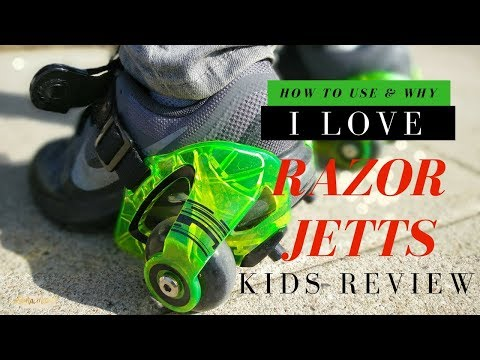 How to use Razor Jetts, Heel Wheels. Tips and Tricks