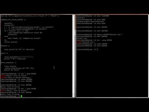 Linux Command-Line Interface (CLI) Tutorial #020 - Environment Variables