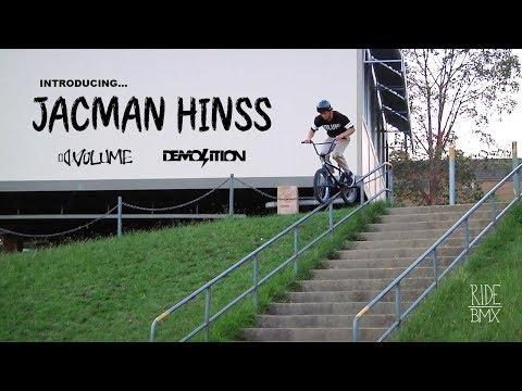 BMX: JACMAN HINSS - VOLUME / DEMOLITION - 2018