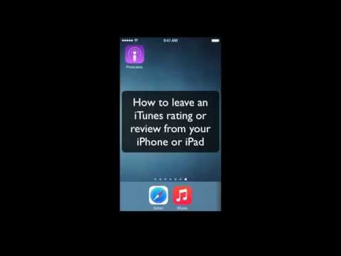 How to rate and review a podcast in iTunes on iPhone or iPad