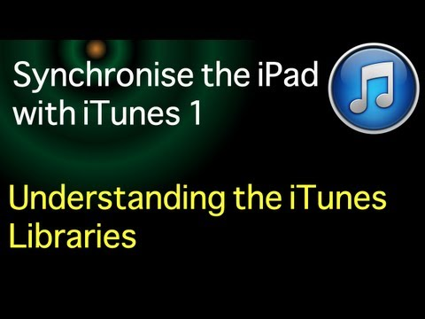 Sync the iPad to iTunes 11: Part 1