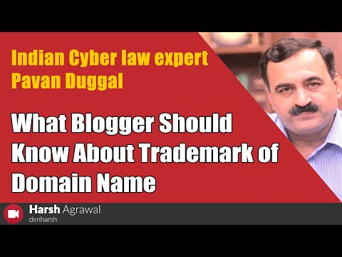 What Blogger Should Know About Trademark of Domain Name