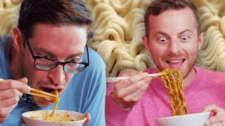 The Try Guys EXTREME Spicy Noodle Challenge